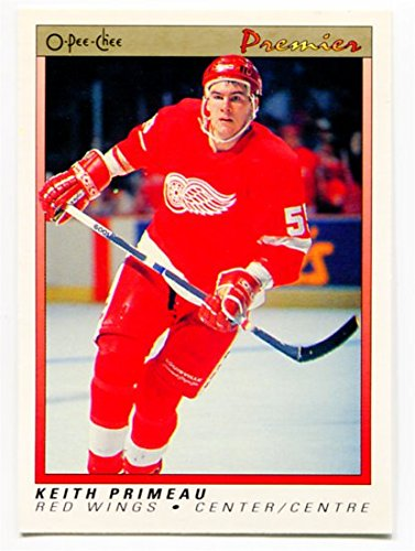 1990/91 OPC Premier Keith Primeau Rookie Card #91 Detroit Red Wings