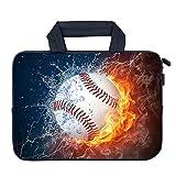 AMARY Laptop-Hülle aus Neopren für Apple MacBook Air HP Dell Lenovo Asus Samsung (Baseball)