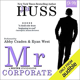 Mr. Corporate audiobook cover art