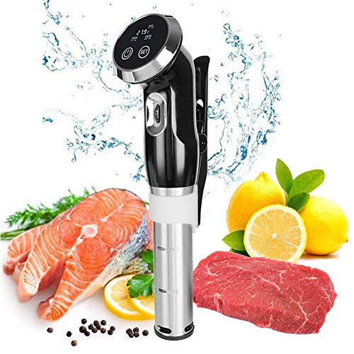 Sous Vide Cooker 1500 Watts, BPA-Free Thermal Immersion Circulator, Professional Sous Vide Machine for Accurate Temperature, Stainless Steel, Perfect for Tender Steak, Poultry, Seafood, Eggs, etc.