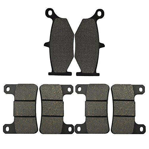 Preisvergleich Produktbild AHL 3 Paar Vorne / Hinten Bremsbeläge für GSXR600 / GSXR750 K6 / K7 / K8 / K9 / L0 2006-2010 (Halbmetallischen)
