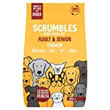 Scrumbles Natural Dry Dog Food, Gluten Free Recipe With Fresh Chicken, For Adults And Senior Breeds, 2 kg Bag