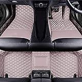 Coche Mat Suelo Alfombra Cuero Alfombrillas Antideslizantes Esteras Impermeable Moqueta Set Delanteras y Traseras Cobertura Completa para BMW E92 3 Series 2006-2013 Accesorios