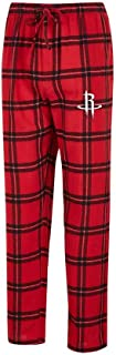 Concepts Sport Men's NBA-Homestretch-Plaid Sleepwear Pajama Pants-With Pockets