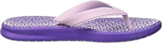 Nike Girl's WMNS Solay Thong Print Low-Top Slippers