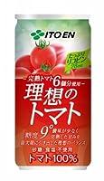 伊藤園 理想のトマト 190g缶×20本×4ケース(80本)