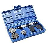 XPOtool Set reposicionador pistones de freno 8 piezas con placas adaptadoras universales giro a derecha e izquierda
