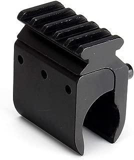 Color : Negro Picatinny Rail Mount 45 Grados 3 Ranuras 20 mm Picatinny Weaver for montajes de Alcance y Accesorios con Llave Allen Lixia-Scope