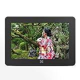 KODAK WiFiデジタルフォトフレーム10.1 IPSタッチスクリーン高解像度、人物像や風景はAppを通じていつでもどこでも写真やビデオを共有する。正規品 PSE認証済み(10インチ、黒)