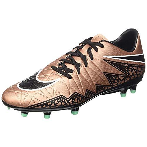 Nike Hypervenom Phelon II Fg, Chaussures de Running Entrainement homme, Verde (Green/Schwarz), 44 EU