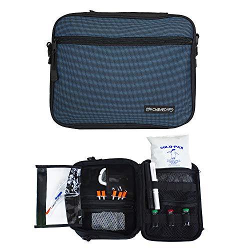 ChillMED Premier Diabetic Supply Organizer | Travel Bag...