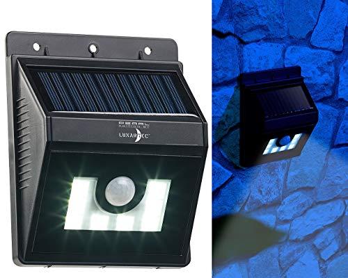 Applique solaire à LED 180 lm avec détecteurs de mouvement/obscurité [Lunartec]