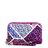 Vera Bradley Signature Cotton Grab & Go Wristlet with RFID Protection, Modern Medley
