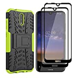 HAOYE Case for Nokia 2.3 Case and 2 Screen Protector,