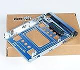 Heretom 654540-001 - Adaptador de disco duro SAS SATA SSD de 2,5' a 3,5' compatible con HP ProLiant MicroServer N54L N40L N36L