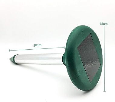 Solar Snake Repeller Multi Pulse Plus Ultrasonic Pest Rodent Repellent (10)