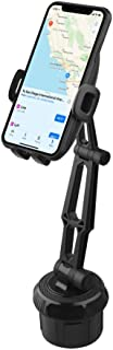 Fugetek Car Cup Holder Phone Mount, Universal Base, Hands-Free, Adjustable, 360 ° Rotatable, Cradle, iPhone 11, XR/XS Max, XS/X, 8/8+, 7/7+, Galaxy S10,S9,S8, HTC, Google, Black