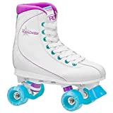 Roller Derby Roller Star Women's Roller Skates, 6, White/Purple/Blue