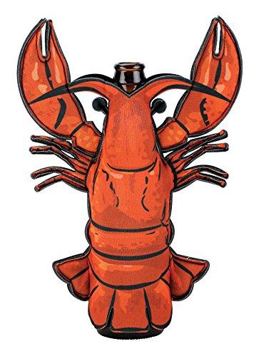 Boston Warehouse Lobster Beer And Soda Bottle Sleeve