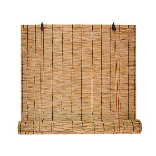 Bamboo curtain Haushaltsbambusvorhang Kordelzug Schilfvorhang, dekorative Teestube Restaurant Vorhänge Rollo Rattan Vorhang