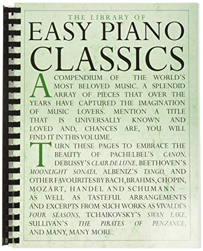 The Library of Easy Piano Classics