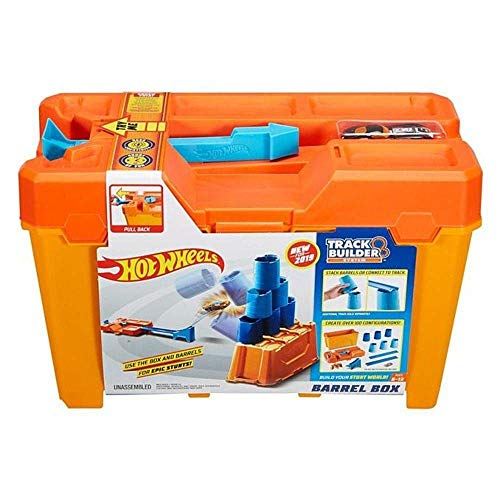 Caixa de Obstáculos Hot Wheels Track Builder - Mattel GCF91