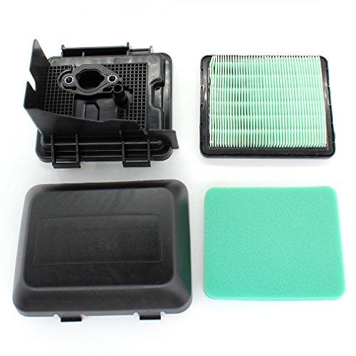 AISEN Luftfilterdeckel Luftfiltergehäuse Luftfilter für Honda GCV135 GCV160 GCV190 Rasenmäher Ersetzt 17231-ZM0-000/17220-ZM0-000