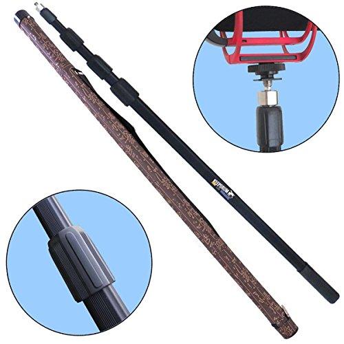 keepdrum MPB03 3m Tonangel Boompole mit Trage-Tasche