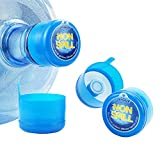3 & 5 Gallon Water Jug Cap Replacement Non Spill Bottle Caps Anti Splash Peel Pack of 20