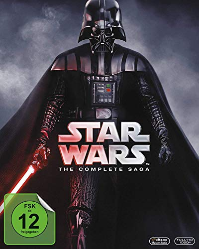 Star Wars: The Complete Saga [9 Blu-rays] - 6 Episoden