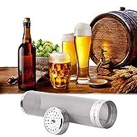 🍻 Ménage pour le brassage à domicile: Il est préférable de filtrer les résidus de pelage résultant de la production de houblon et de boissons, ainsi que les scories et la mousse produites lors du brassage, qu'avec des sachets de bière. Vous pouvez aj...