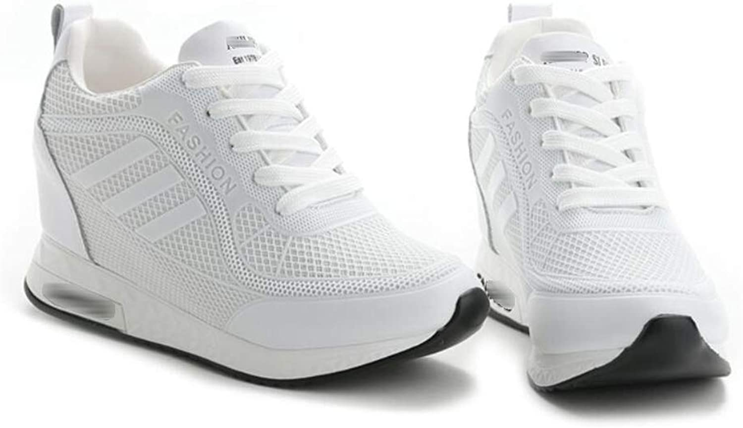 Rcnry Increased Inside, Small White shoes, Female, Pointed, Student, Sneakers