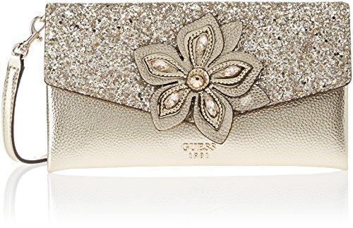 Guess Bags Hobo, Bolso de mano. para Mujer, Dorado (Gold), 4.5x13x24.5 centimeters (W x H x L)