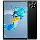 ZYING Ultra Slim 8-Zoll-Android-Tablet,HD-IPS-Bildschirm,Octa-Core-Prozessor,1 GB RAM + 16 GB ROM Erweiterbares 64G,WiFi,2MP + 5MP Dual-Kamera,SIM-Kartensteckplatz,4000-mAh-Akku (Schwarz,Gold,Grau)