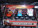 Disney / Pixar CARS TOON Exclusive Oversized Die Cast Car 3Pack Frightening McMean, The Tormenter Dr. Feel Bad by Mattel
