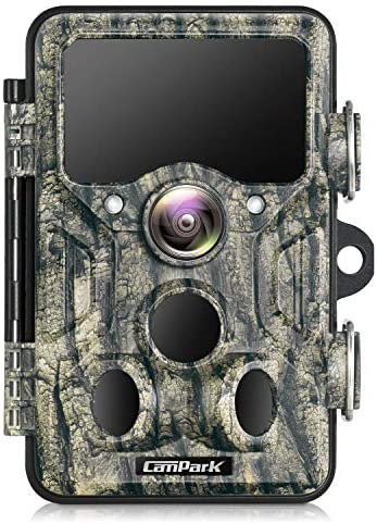 Campark WiFi Bluetooth Trail Camera 20MP 1296P Game Hunting Camera with 940nm IR LEDs No Glow product image