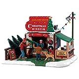 Lemax 83354 Garland Grove Tree Lot de 5 décorations de Noël en Forme d'arbre de Noël 2018