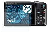 Bruni Película Protectora para Canon PowerShot SX600 HS Protector Película, Claro Lámina Protectora (2X)