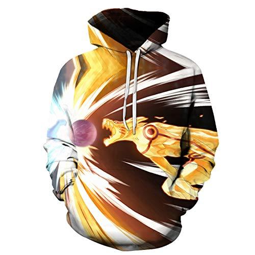 NHICR Sudadera con capucha 3D de manga larga para jvenes, con capucha, para hombre, personalizada, disfraz de cosplay impreso, cmoda B-4XL5XL