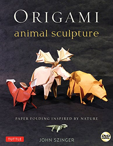 Compare Textbook Prices for Origami Animal Sculpture: Paper Folding Inspired by Nature: Fold and Display Intermediate to Advanced Origami Art: Origami Book with 22 Models and DVD Pap/DVD Edition ISBN 8601419902538 by Szinger, John,Plotkin, Bob
