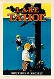 Herbé TM Lake Tahoe Rboc Poster / Kunstdruck, 60 x 80 cm x