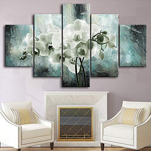 orchidee schilderij ikea