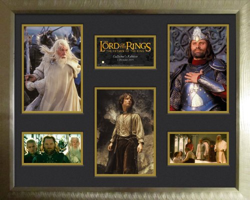 GB oog LTD, Lord of The Rings, terugkeer van de koning, ingelijst en gemonteerd fotografisch, 40 x 50 cm, hout, meerkleur, 69 x 53,5 x 3,5 cm