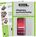 dipos I 6X Schutzfolie matt kompatibel mit Motorola Moto Z3 Play Folie Bildschirmschutzfolie