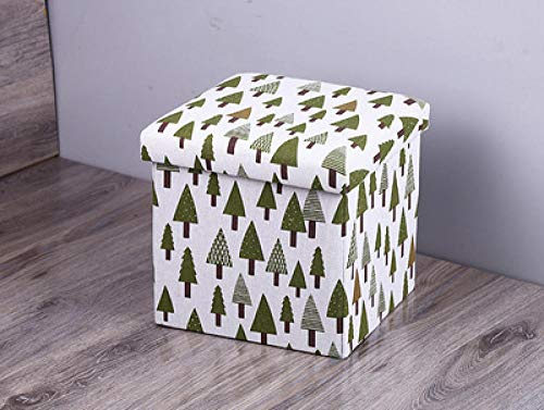 ZXXFR Wasserij Manden inklapbaar, Europese groene kerstboom opslag Kruk Wasserij Hampers Mode Ontwerp Grote Capaciteit inklapbare Opbergtas Duurzaam Met Handvat Organizer