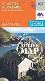 St.Austell,Liskeard, Fowey, Looe and Lostwithiel (OS Explorer Active Map)