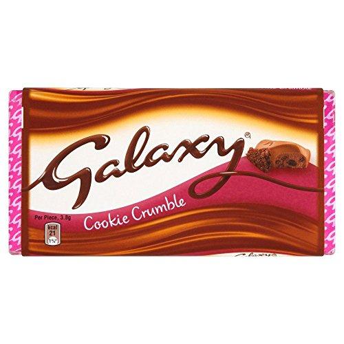 Galaxy Cookie Schokoladen Tafel - 114g - 2-er Pack