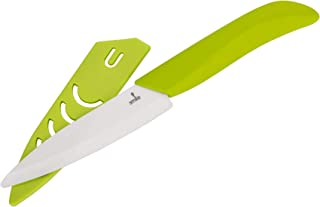 Smile Snc-7/4 Cuchillo De Cerámica Hoja, Resina/Plástico, Verde