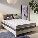 naturalex Carbontech | Special Edition Viscoelastic <span class='highlight'>Memory</span> <span class='highlight'>Foam</span> <span class='highlight'>Mattress</span> | 4ft6 Double Size 135x190cm | Multi Zone Ergonomic Targeted Support for Spinal Alignment | 10 Year Warranty Certified