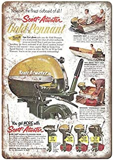 Scott-Atwater Outboard Motors Vintage Boating 7